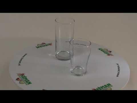 Longdrinkglas 27 cl en colaglas klein 20 cl Heman 2008 en 2009