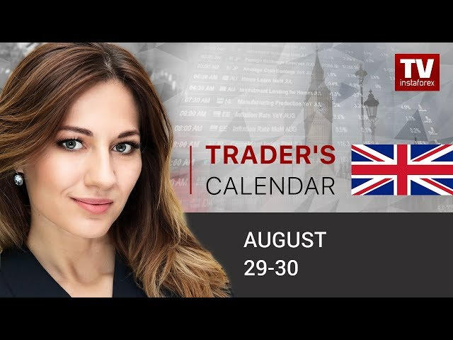 InstaForex tv calendar. Trader's calendar for August 29-30: Is there compelling evidence for recession in US?