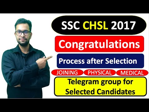 Download SSC CHSL 2017 PROCESS after Final Result | Telegram group for selected Candidates Mp4 HD Video and MP3