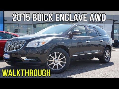 2015 Buick Enclave Leather AWD | Heated Wheel, Dual Sunroofs (Walkthrough)