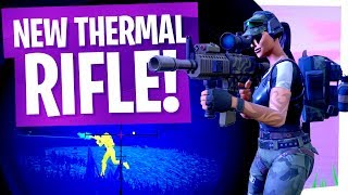 The New Thermal Rifle is AWESOME! - Fortnite Thermal Scoped Assault Rifle Gameplay