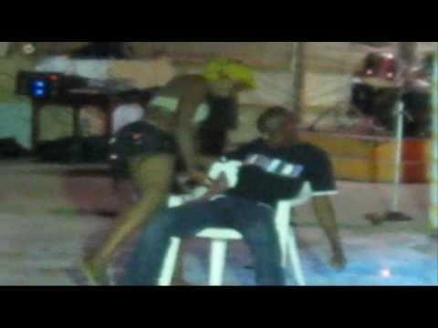 Sexy dance by a Kenyan  girl.  Mombasa.