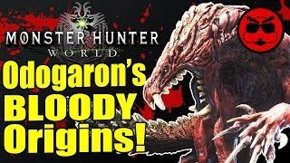 Odogaron's TERRIFYING Yokai Culture in Monster Hunter World  - Gaijin Goombah
