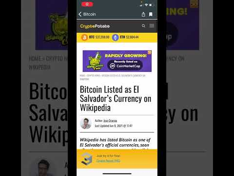 Bitcoin vis dar yra dalykas