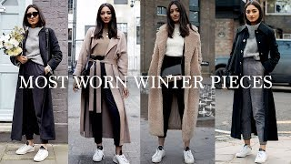 MOST WORN WINTER PIECES | LOOKBOOK