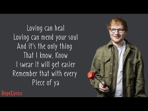 Photograph - Ed Sheeran (Lyrics) Mp3