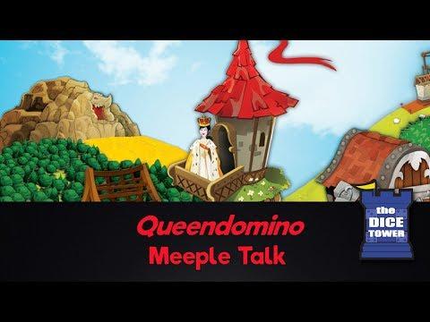 Queendomino Review - with Meeple Talk