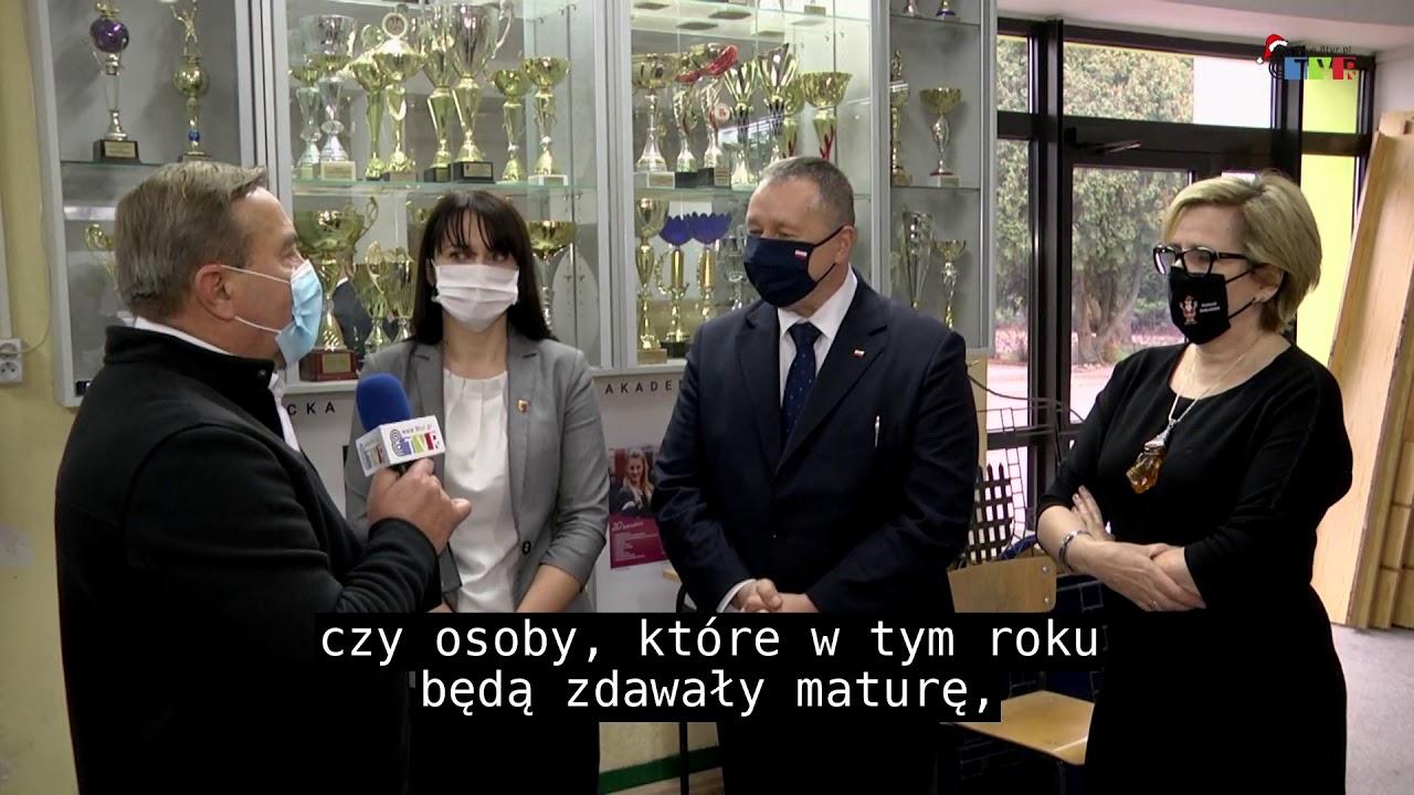 Wizyta Łódzkiego Kuratora Oświaty w Sieradzu