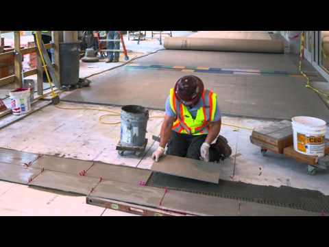 Top Five Tips for  Rapid Setting Tile Installations