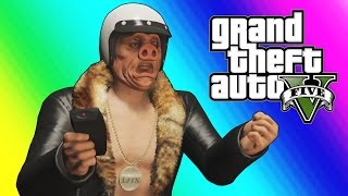 GTA 5 Online Funny Moments: Wildcat's Company Office! (DLC)