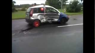preview picture of video 'Unfall Hannover Langenhagen, car accident, incidente stradale, crash, Verkehrsunfall'