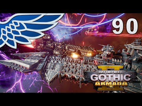 BATTLEFLEET GOTHIC ARMADA 2 | Fallen Angels Part 90 - Imperial Campaign BFGA2 Let's Play Gameplay