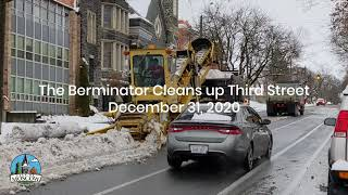 """The """"Berminator"""" – city of Moscow snow removal"""