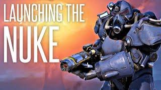 LAUNCHING THE NUKE - Fallout 76 (PC) Nuke/Ground Zero Gameplay