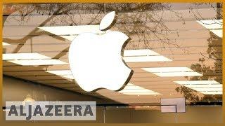🇺🇸🇨🇳Apple blames weak iPhone China sales as it cuts revenue forecast l Al Jazeera English