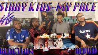 STRAY KIDS-MY PACE M/V REACTION/REVIEW