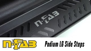 In the Garage™ with Performance Corner®: N-FAB Podium Side Steps