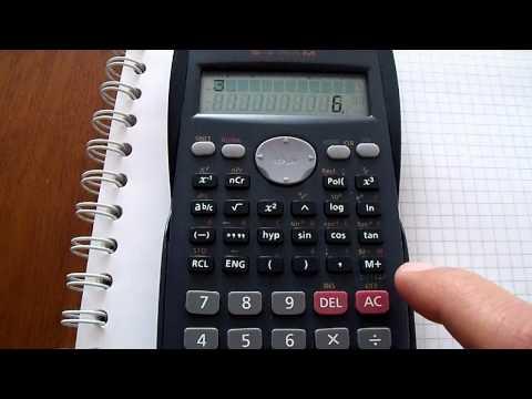 Media, Varianza y Desviación Estándar usando la calculadora CASIO fx-82MS para datos simples