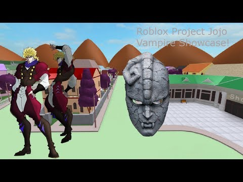 Roblox Project Jojo Vampire Showcase! - смотреть онлайн на
