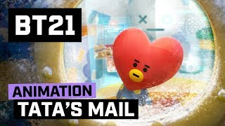 [BT21] Happy UNIVERSTAR Holidays - TATA's MAIL