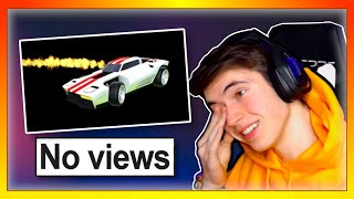 Reacting To Rocket League Videos With 0 VIEWS... (not what I expected)