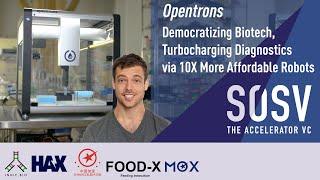 OPENTRONS - Democratizing Biotech