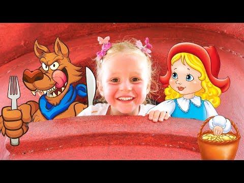 Сказки для детей в развлекательном парке Влог от Насти