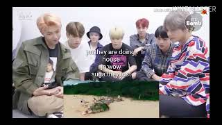 (ENG SUBS)Bts Reaction To Twice Dance The Night Away