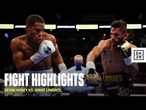 Девин Хэйни – Хорхе Линарес / Devin Haney vs. Jorge Linares