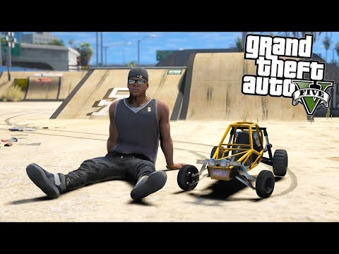 GTA 5 Mods - This RC Car Is AWESOME!! (Evade Gameplay)