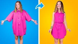 Модные лайфхаки для одежды / Как выделиться в школе