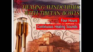 Soothing Wind Chimes With Tibetan Bowls