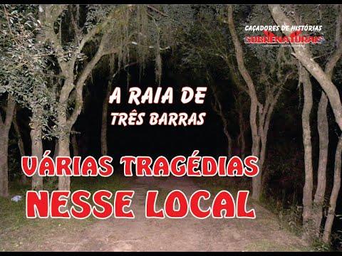 A RAIA DE TRÊS BARRAS  - TRAGÉDIAS MARCAM O LOCAL
