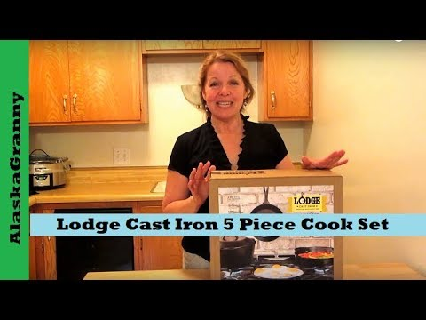 Lodge Cast Iron 5 Piece Cook Set Product Review