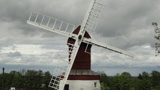 preview picture of video 'Windmills of Cambridgeshire: Madingley Windmill'