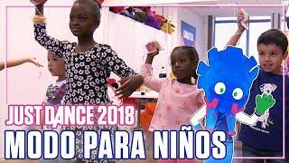NO HAY LIMITES PARA BAILAR!! JUST DANCE 2018 TENDRÁ MODO PARA NIÑOS