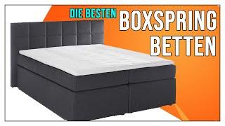 Boxspringbett TEST 2021 - Welches Bett kaufen? Vergleich