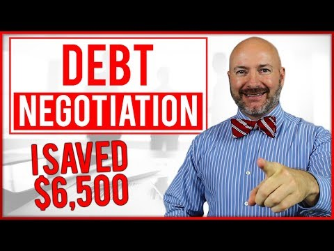 4 Steps I Used to Negotiate Debt and Save $6,500