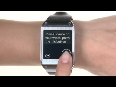 Voice Commands and Hands Free Calling - Samsung Galaxy Gear (SM-V700)