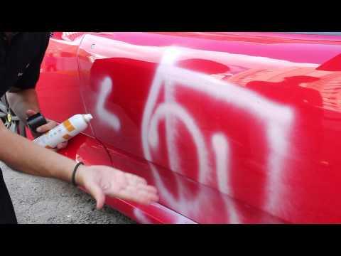 DELETA - Remoção de pichação em uma Ferrari!