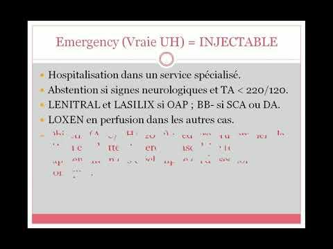 Hypertension numéro de régime