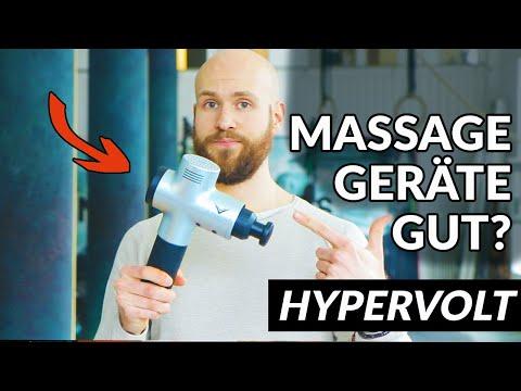 Hypervolt Massage Gerät - Besser als Rollen & Dehnen? Massage Geräte Test