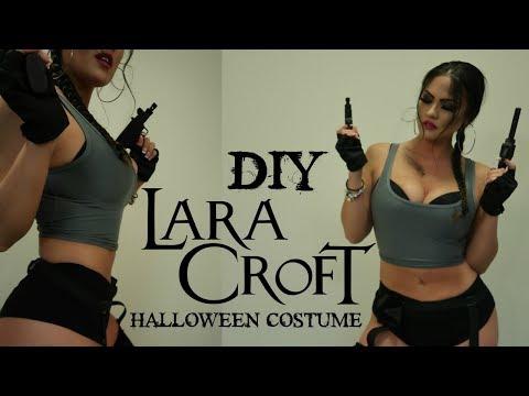 LARA CROFT TOMB RAIDER | DIY HALLOWEEN COSTUME