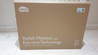 Unboxing BenQ GL2780 27 inch monitor