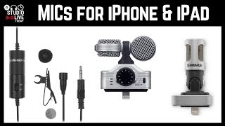 How to use a microphone to get better sound on iPhone/iPad