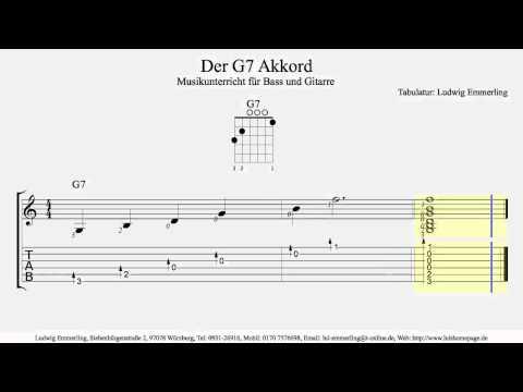 G7 Chord / Der G7 Akkord
