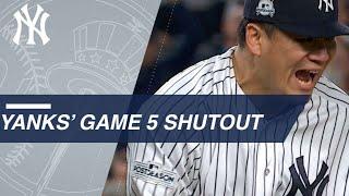 ALCS Gm5: Masahiro Tanaka and Tommy Kahnle combine for Game 5 shutout