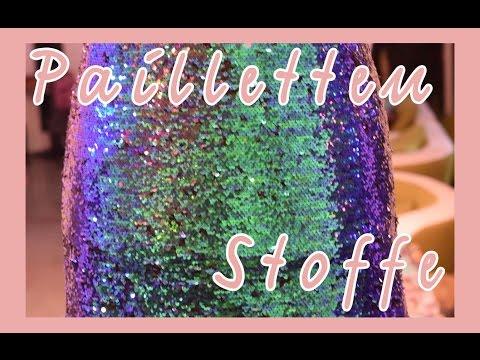Stoffwelten Pailletten Stoffe Silvester Kleid