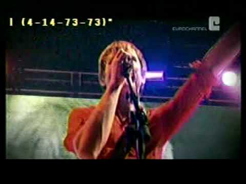 Franz Ferdinand - You could have it so much better @ Princess Street Garden 2005