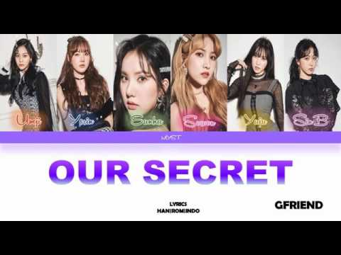 GFRIEND (여자친구) – Our Secret (비밀 이야기) (Color Coded Lyrics HAN|ROM|INDO) Sub Indo | Lirik Terjemahan